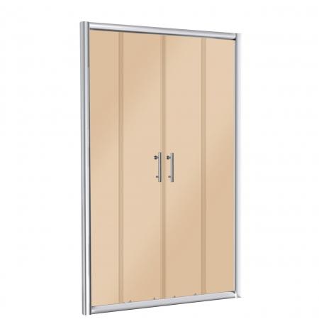 drzwi wnękowe szklane Aina 140 B (brąz.)