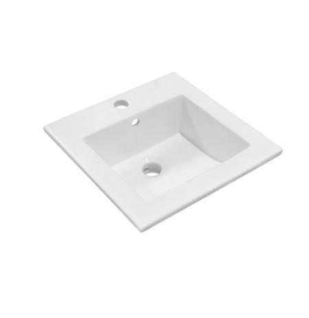 Umywalka wpuszczana KR-41 kwadratowa