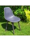 krzesło ogrodowe Junona 03 grey (szare)