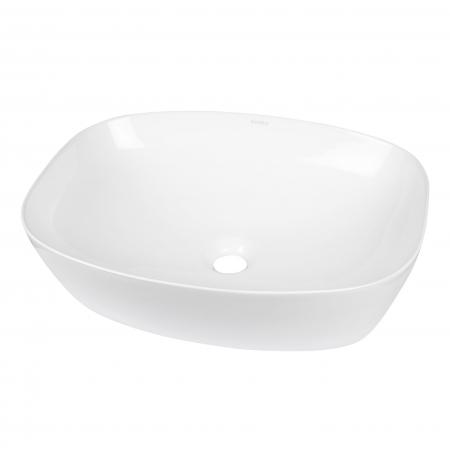 Umywalka nablatowa KR-640 (biała)