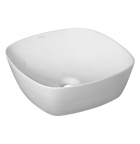 Umywalka nablatowa KR-650 WH (biała)