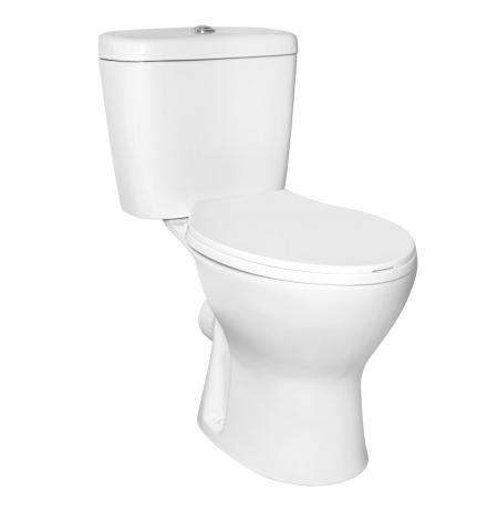 WC kompakt NIAGARA bezkołnierz. (z desk)