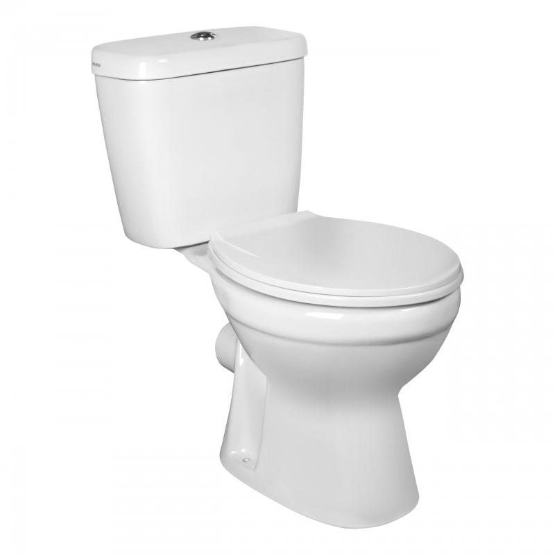WC kompakt C-Clear (odpływ poziomy)