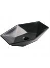 Umywalka nablatowa KR-570 BLM czarna półmatowa