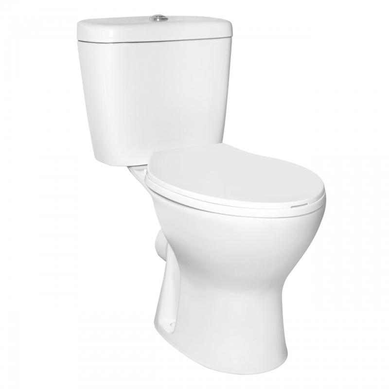 WC kompakt NIAGARA DUO bezkołn.(z deską)