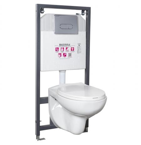 Zestaw podtynkowy WC Doris/Pacific CHR
