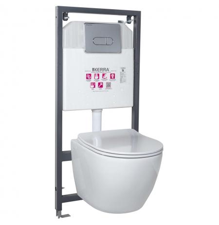 Zestaw podtynkowy WC Delos/Pacific CHR