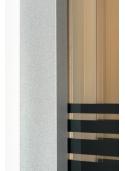 Kabina Pico Stripe 80x80cm