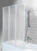Parawan wannowy Aquaform Standard 3 121x139cm - biały
