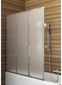 Parawan wannowy Aquaform Standard 3 121x139cm - chrom