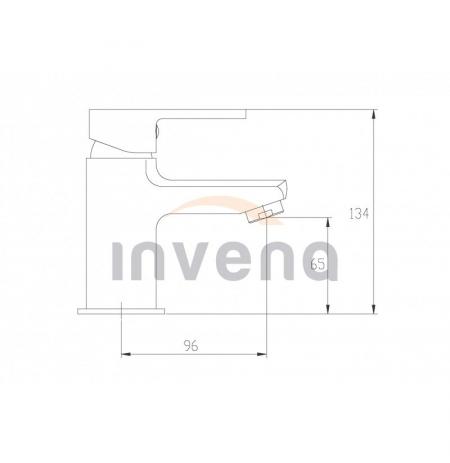 Bateria umywalkowa Invena Verso BU-82-001