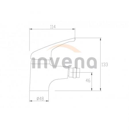 Bateria bidetowa Invena Perea BB-05-001
