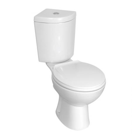 WC kompakt CORNER/KR 61 z deską